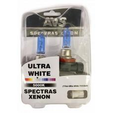 Лампа газонаполненная H11 12V 75W AVS SPECTRAS Xenon кт.2+2Т-10 (5000K)