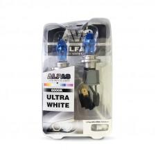 Лампа газонаполненная H4 12V 75/85W AVS ALFAS Pure-White кт.2+2Т-10 (6000К)