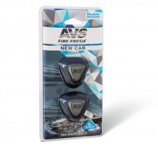 Ароматизатор AVS Double Stream (New Car) (мини мембрана)