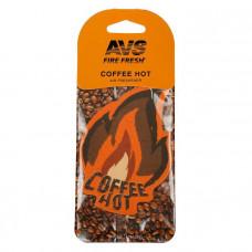 Ароматизатор AVS AFP-002 Fire Fresh (Coffee Hot) (бумажные)/уп 10