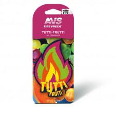 Ароматизатор AVS AFP-012 Fire Fresh (Tutti-frutti) (бумажные) / уп 10