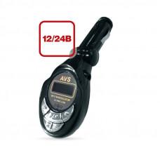 FM модулятор MP3+плеер с дисплеем и пультом (в прикуриватель) AVS A78578S
