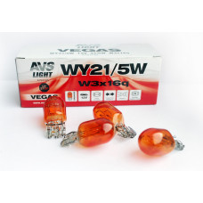 "Лампа 12V WY21/5W (W3x16q) ""Orange"" BOX (10 шт.) AVS Vegas A78174S"