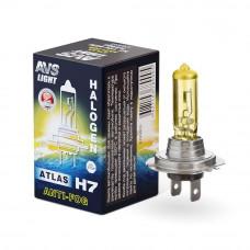Лампа галогенная AVS ATLAS ANTI-FOG / BOX желтый H7.12V.55W (1 шт.) A78900S