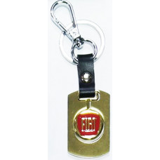 Брелок для ключей FIAT металл зол.