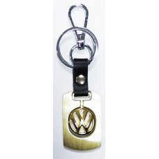 Брелок для ключей  Volkswagen,металл зол.