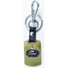 Брелок для ключей Ford металл зол.
