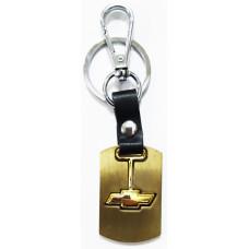 Брелок для ключей Chevrolet металл зол.
