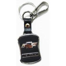 Брелок для ключей Chevrolet металл/кожа