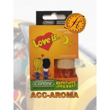 Ароматизатор Contex Love is... в деревянной бутылке Цитрусовый рай