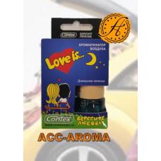 Ароматизатор Contex Love is... в деревянной бутылке  Домашнее печенье