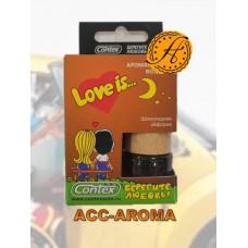Ароматизатор Contex Love is... в деревянной бутылке Шоколадная эйфория