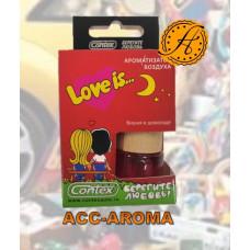 Ароматизатор Contex Love is... в деревянной бутылке  Вишня в шоколаде