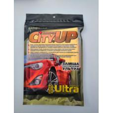 Салфетка City UP замша синтетическая ULTRA большая 64х43 М5 12/96