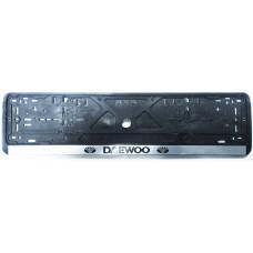 Рамка для номера Daewoo пластик