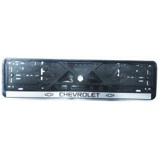 Рамка для номера Chevrolet пластик