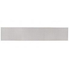 Сетка для бампера и решётки радиатора металл серая 25см / 100см мелкая