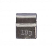 Грузик балансировочный навесной для литых дисков 10г уп/100шт