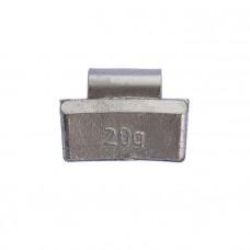 Грузик балансировочный навесной для литых дисков 20г уп/100шт