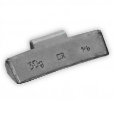 Грузик балансировочный навесной для литых дисков 30г уп/100шт