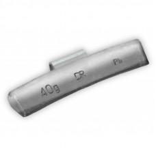 Грузик балансировочный навесной для литых дисков 40г уп/50шт