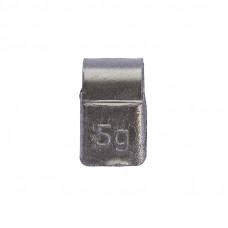 Грузик балансировочный навесной для литых дисков 5г уп/100шт