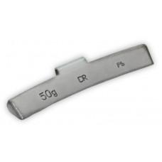 Грузик балансировочный навесной для литых дисков 50г уп/50шт