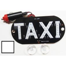 Знак TAXI в прикуриватель белый