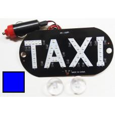 Знак TAXI в прикуриватель синий