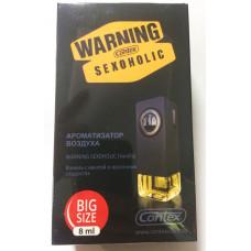 Ароматизатор Contex на дефлектор Waring Sexoholig (Опасно сексоголик) Ваниль и восточные сладости