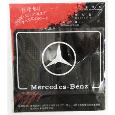 Коврик силиконовый антискользящий Mercedes