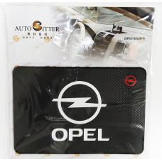Коврик силиконовый антискользящий Opel