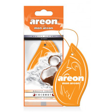 Ароматизатор AREON бумажный MON AREON Coconut /уп-10