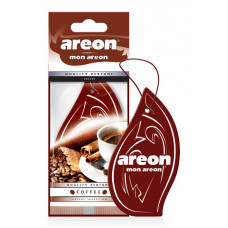 Ароматизатор AREON бумажный MON AREON Coffee /уп-10