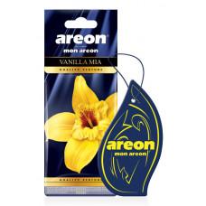 Ароматизатор AREON бумажный MON AREON  Vanilla Mia/уп-10