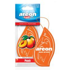 Ароматизатор AREON бумажный MON AREON  Peach /уп-10
