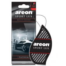 Ароматизатор AREON бумажный Sport Lux Platinum уп/10