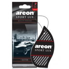 Ароматизатор AREON бумажный Sport Lux Silver уп/10